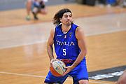 Ariel Filloy<br /> Nazionale Italiana Maschile Senior<br /> Torneo dell Acropolis<br /> Georgia Italia Georgia Italy<br /> FIP 2017<br /> Atene, 25/08/2017<br /> Foto Ciamillo - Castoria / GiulioCiamillo