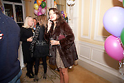 DELILA KHOMO, Kate Reardon and Michael Roberts host a party to celebrate the launch of Vanity Fair on Couture. The Ballroom, Moet Hennessy, 13 Grosvenor Crescent. London. 27 October 2010. -DO NOT ARCHIVE-© Copyright Photograph by Dafydd Jones. 248 Clapham Rd. London SW9 0PZ. Tel 0207 820 0771. www.dafjones.com.