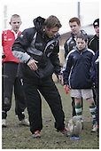 Newcastle Falcons Kicking Camp with jonny Wilkinson - 22-02-2006