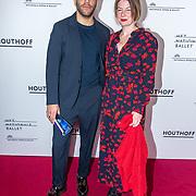 NLD/Amsterdam/20190316  - Premiere balletvoorstelling Het Zwanenmeer, Yousef Gnaoui (Sef) en partner Roxanne