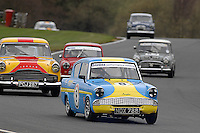 (8) - Nick Jones - Ford Anglia 105E/1500.ThermexClassicSaloon/HistoricTouringCarSeries.Oulton Park, Cheshire, United Kingdom.  28th-March 2009.World Copyright: Peter Taylor/PSP
