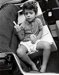 """Bruno Mars releases a photo on Twitter with the following caption: """"""""When you're too impatient for Throwback Thursday so you fully embrace Way Back Wednesday. #1989"""""""". Photo Credit: Twitter *** No USA Distribution *** For Editorial Use Only *** Not to be Published in Books or Photo Books ***  Please note: Fees charged by the agency are for the agency's services only, and do not, nor are they intended to, convey to the user any ownership of Copyright or License in the material. The agency does not claim any ownership including but not limited to Copyright or License in the attached material. By publishing this material you expressly agree to indemnify and to hold the agency and its directors, shareholders and employees harmless from any loss, claims, damages, demands, expenses (including legal fees), or any causes of action or allegation against the agency arising out of or connected in any way with publication of the material."""