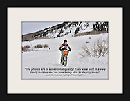 2016 Fat Bike Worlds, in Crested Butte, Colorado. Leah M., from Colorado Springs, purchased her photos online from Climate Photography.