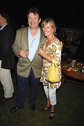 ROLLIE LEIGH and LYNDSAY BEARHAM at a party to celebrate the 100th issue of Waitrose's Food Illustrated magazine held at The Physic Garden, Chelsea, London on 13th September 2007.<br /><br />NON EXCLUSIVE - WORLD RIGHTS