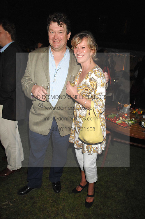 ROLLIE LEIGH and LYNDSAY BEARHAM at a party to celebrate the 100th issue of Waitrose's Food Illustrated magazine held at The Physic Garden, Chelsea, London on 13th September 2007.<br />