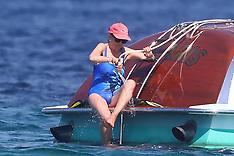 Sweden Royals boating - Saint Tropez - 2 July 2019