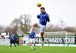 Lee Brown of Bristol Rovers warms up. - Mandatory by-line: Alex James/JMP - 10/02/2018 - FOOTBALL - Kassam Stadium - Oxford, England - Oxford United v Bristol Rovers - Sky Bet League One