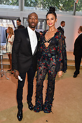 Alesha Dixon and Azuka Ononye at the Glamour Women of The Year Awards 2017 in association with Next held in Berkeley Square Gardens, London England. 6 June 2017.