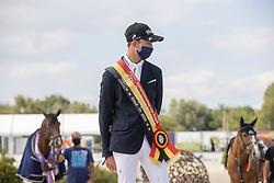 Podium juniors, Van Beek Roy<br /> Belgisch Kampioenschap Jeugd Azelhof - Lier 2020<br /> © Hippo Foto - Dirk Caremans<br /> 02/08/2020