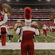 The University of Houston marching band performs prior to the game.<br /> <br /> Todd Spoth for The New York Times.