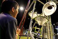 Downtown Charlotte science museum Discovery Place, new hands-on and marine exhibits opened summer 2010. This is the Playing with physics in the new Cool Stuff exhibit.