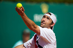 MONTE-CARLO, MONACO - Wednesday, April 14, 2010: Benjamin Becker (GER) during the Men's Singles 2nd Round match on day three of the ATP Masters Series Monte-Carlo at the Monte-Carlo Country Club. (Photo by David Rawcliffe/Propaganda)