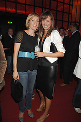 Left to right, EIRIL VENVIK SKARBEK and CLARE BOYD at a party hosted by gallery Haunch of Venison to celebrate Harry Blain's 40th birthday held at Sketch, 9 Conduit Street, London W1 on 10th October 2007.<br /><br />NON EXCLUSIVE - WORLD RIGHTS