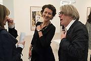opening of Frieze. Regent's Park. London. 4 October 2017