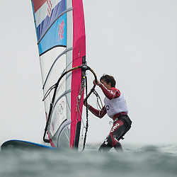 2012 Olympic Games London / Weymouth<br /> RSX man racing day 1 <br /> RS:X MenCROMratovic Luka