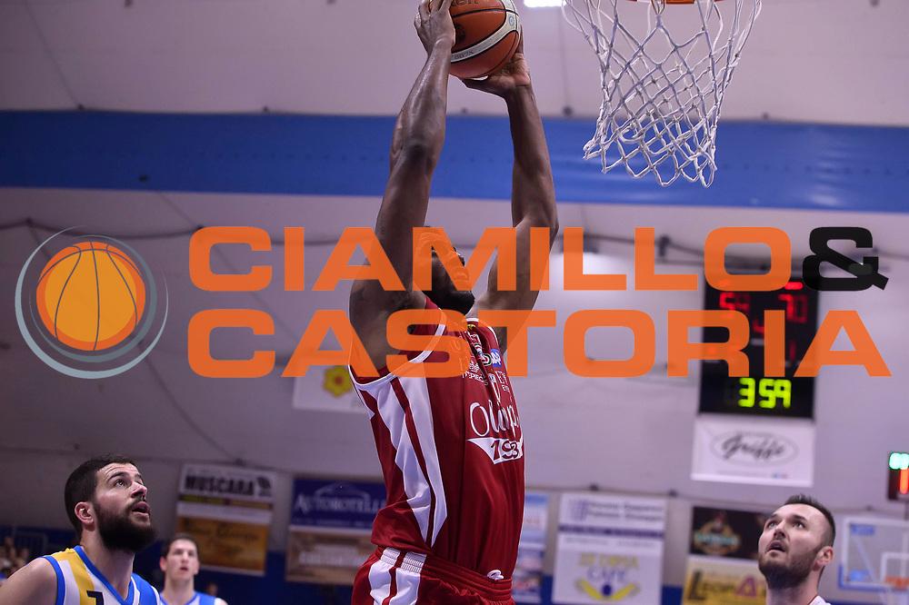 Jamel McLean <br /> Betaland Capo D'Orlando - EA7 Emporio Armani Olimpia Milano<br /> Playoff Gara 4<br /> Lega Basket 2016/2017<br /> Capo D'Orlando 18/05/2017<br /> Foto Ciamillo-Castoria