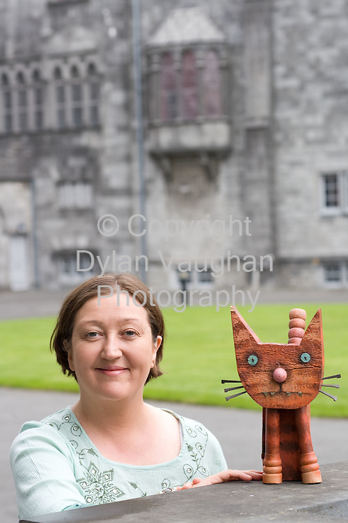 19/5/2008.Lynn Cahill of the Cat Laughs Comedy festival pictured at Kilkenny Castle..Picture Dylan Vaughan.