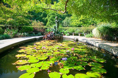 Conservatory Garden, Central Park.