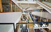 Nederland, Nijmegen, 12-12-2018Gebouw van de hogeschool Arnhem Nijmegen, HAN . Veel scholieren kiezen voor een voortgezette studie aan universiteit of hogeschool vanwege de arbeidsmarkt. Foto: Flip Franssen