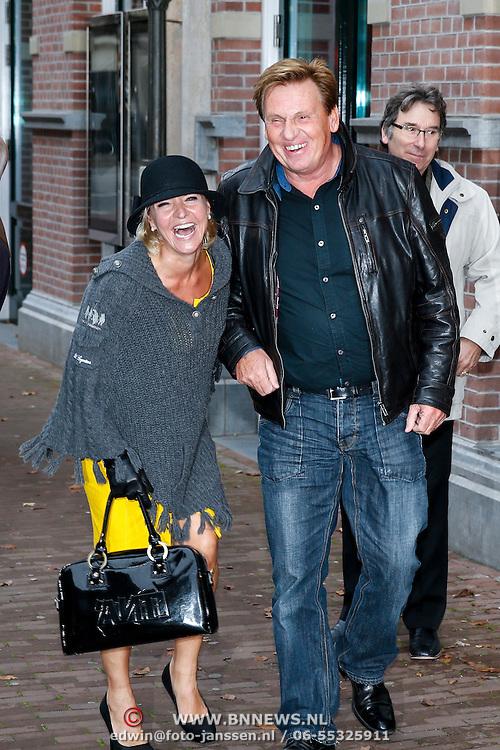 NLD/Amsteram/20121024- Presentatie biografie Joop van den Ende, Henny Huisman en Mariska van Kolck