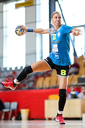 Tamara Mavsar of RK Krim Mercator during hanball match between RK Krim Mercator and RK Lokomotiva Zagreb at 15th Vinko Kandija Memorial, on August 18, 2018 in Dvorana Kodeljevo, Ljubljana, Slovenia. Photo by Matic Klansek Velej / Sportida