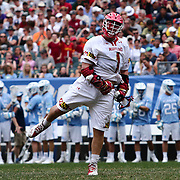 University of Maryland Attackman MATT RAMBO (1) celebrates after scoring during the second half of The NCAA Division I NATIONAL CHAMPIONSHIP GAME between North Carolina and Maryland, Monday, May. 30, 2016 at Lincoln Financial Field in Philadelphia, Pa