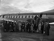Aer Lingus - Guests for Whitegate Refinery  Company Arrive<br /> 21/09/1959