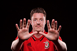 CARDIFF, WALES - Wednesday, March 22, 2017: Wales' goalkeeper Wayne Hennessey poses for a portrait ahead of the 2018 FIFA World Cup Qualifying Group D match against Republic of Ireland. (Pic by David Rawcliffe/Propaganda)