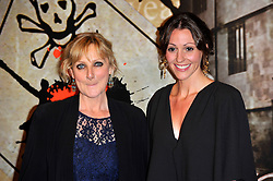 Lesley Sharp & Suranne Jones  at the  Crime Thriller Awards  in London, Thursday, 18th October 2012 Photo by: Chris Joseph / i-Images
