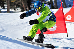 World Cup Banked Slalom, BRECHET Sylvain, FRA at the 2016 IPC Snowboard Europa Cup Finals and World Cup