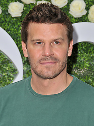 David Boreanaz arrives at the 2017 CBS Television Studios Summer Soiree TCA Party held at the CBS Studio Center – New York Street in Studio City, CA on Tuesday, August 1, 2017. (Photo By Sthanlee B. Mirador) *** Please Use Credit from Credit Field ***