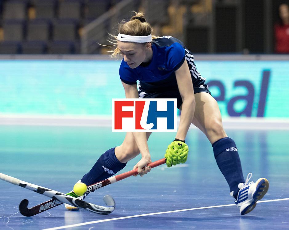 BERLIN - Indoor Hockey World Cup<br /> Women: Russia - Czech Republic<br /> foto: BORISOVA Valeriia.<br /> WORLDSPORTPICS COPYRIGHT FRANK UIJLENBROEK