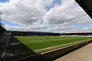 Scunthorpe United Glanford Park ground before the EFL Sky Bet League 1 match between Scunthorpe United and Chesterfield at Glanford Park, Scunthorpe, England on 17 April 2017. Photo by Ian Lyall.