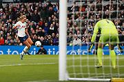 Rianna Dean runs towards goal during the FA Women's Super League match between Tottenham Hotspur Women and Arsenal Women FC at Tottenham Hotspur Stadium, London, United Kingdom on 17 November 2019.