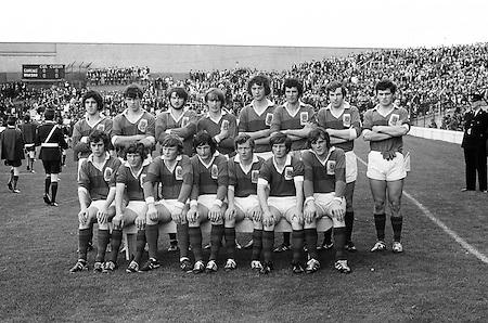 26.09.1971 Football All Ireland Minor Final Mayo Vs Cork.Mayo Team