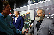 The New Orleans Premier of Mel Gibson's movie Hacksaw Ridge, at the National WWII Museum on October 26, 2016