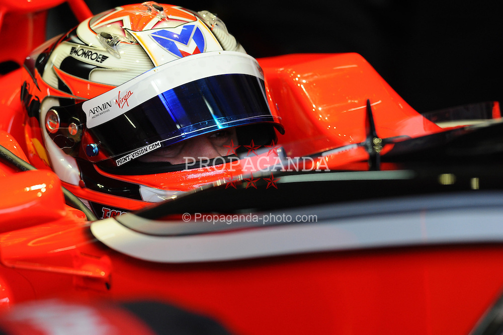 19.02.2011, Circuit de Catalunya, Barcelona, ESP, Formel 1 Test 3 2011,  im Bild  Timo Glock (GER), Marussia Virgin Racing EXPA Pictures © 2011, PhotoCredit: EXPA/ nph/  Dieter Mathis       ****** out of GER / SWE / CRO  / BEL ******