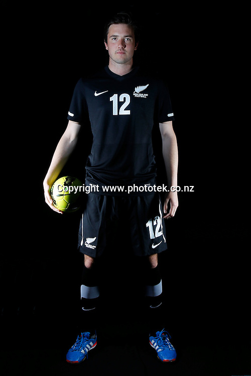 David PLOWRIGHT. Futsal Photo Shoot, North Harbour Stadium, Albany, Wednesday 19th September 2012. Photo: Shane Wenzlick