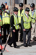 26 October 2010- New York, NY- l to r: Mayor Michael Bloomberg and Maurice Greenberg, Chairman, and Cheif Executive Officer , CV Starr & Company, Inc at The 50th Tree Planting Ceremony held at the World Trade Center Ground Zero. Photo Credit: Terrence Jennings