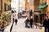 A Galata street scene, Istanbul, Turkey