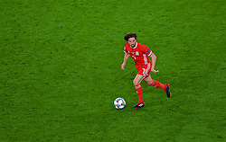 CARDIFF, WALES - Thursday, September 6, 2018: Wales' Joe Allen during the UEFA Nations League Group Stage League B Group 4 match between Wales and Republic of Ireland at the Cardiff City Stadium. (Pic by Laura Malkin/Propaganda)
