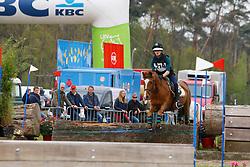 De Kempeneer Arne, BEL, Joly's Dusty<br /> Nationale LRV-Eventingkampioenschap Ponies Minderhout 2017<br /> © Hippo Foto - Kris Van Steen<br /> 29/04/17
