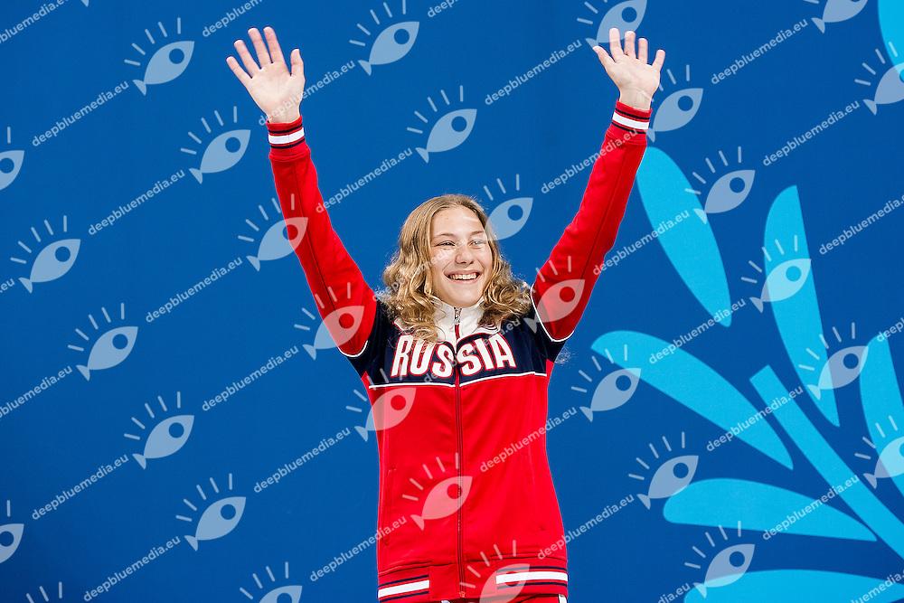 NEKRASOVA Ekaterina RUS<br /> 3M_Springboard Women Final Diving<br /> 1st European Olympic Games <br /> Baku Azerbaijan 12-28/08/2015<br /> Photo Andrea Masini/Deepbluemedia/Insidefoto