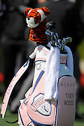 Tiger Woods bag during the 2013 Tavistock Cup at Isleworth Golf and Country Club in Windermere, Florida March 26, 2013. ©2013 Scott A. Miller