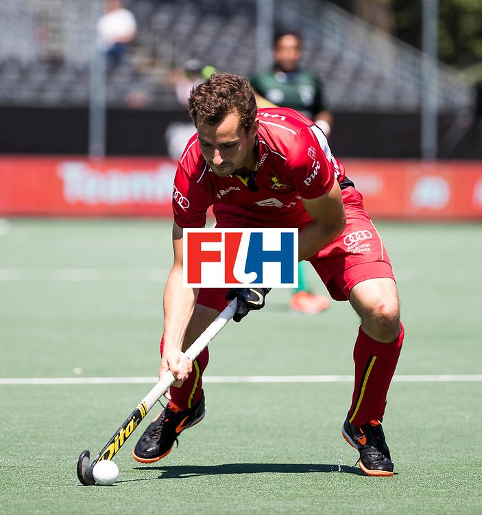 BREDA - Florent van Aubel (Bel)  .   Belgie-Pakistan om de 5e plaats . Belgie wint shoot outs. COPYRIGHT  KOEN SUYK