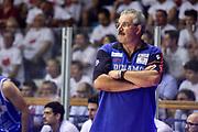 DESCRIZIONE : Campionato 2014/15 Serie A Beko Grissin Bon Reggio Emilia -  Dinamo Banco di Sardegna Sassar Finale Playoff Gara1<br /> GIOCATORE : Romeo Sacchetti<br /> CATEGORIA : Allenatore Coach<br /> SQUADRA : Dinamo Banco di Sardegna Sassari<br /> EVENTO : LegaBasket Serie A Beko 2014/2015<br /> GARA : Grissin Bon Reggio Emilia - Dinamo Banco di Sardegna Sassari Finale Playoff Gara1<br /> DATA : 14/06/2015<br /> SPORT : Pallacanestro <br /> AUTORE : Agenzia Ciamillo-Castoria/GiulioCiamillo