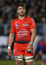RC Toulon's Facundo Isa during the European Rugby Champions Cup, Pool Five match at the Recreation Ground, Bath