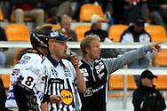 14.6.2011, Kouvola..Superpesis 2011, Kouvolan Pallonly?j?t  - Joensuun Maila..Kakkospelinjohtaja Teemu Airaksinen - JoMa..