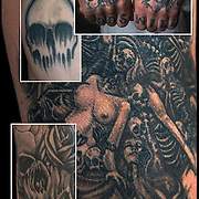 Tattoos as Dark, Grim, Macabre and Demonic Art