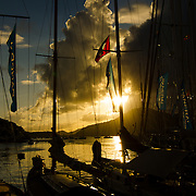 Before the race.<br />